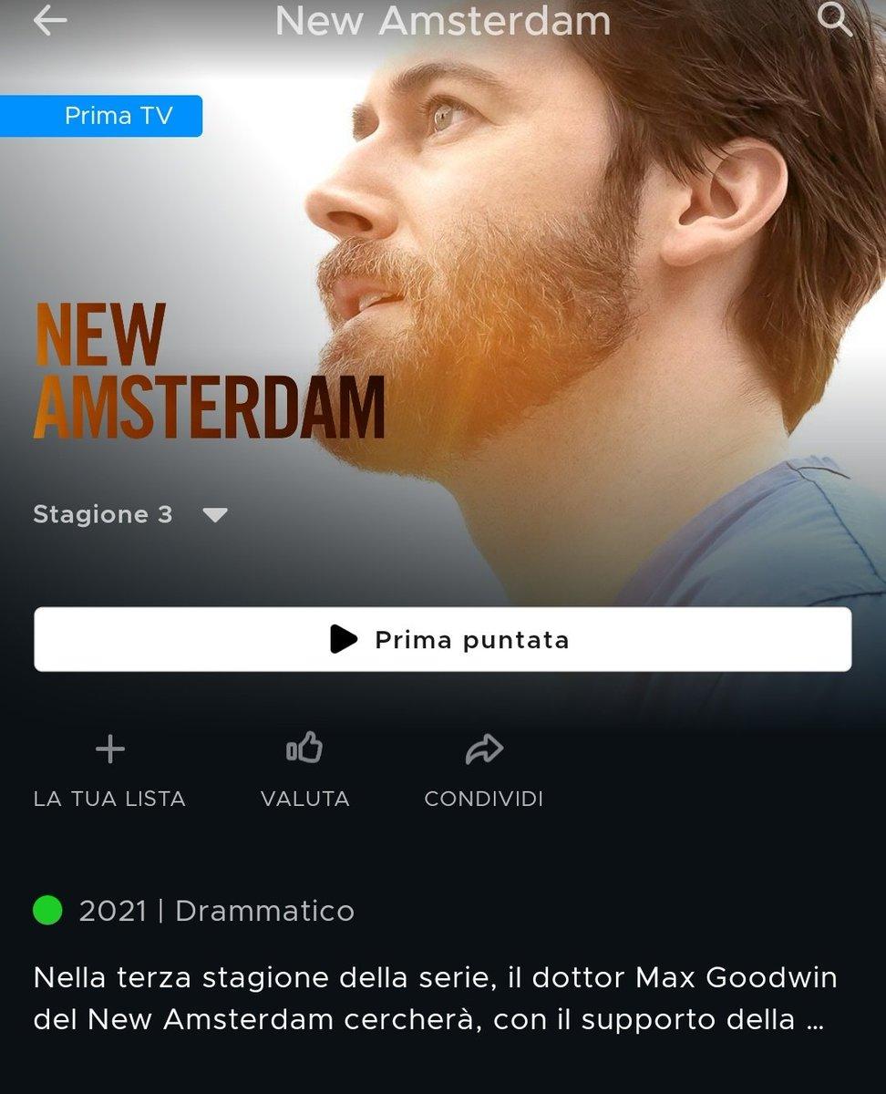 #NewAmsterdam