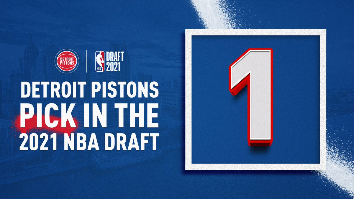 Detroit Pistons win the NBA draft lottery.