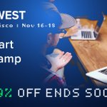Image for the Tweet beginning: Get the ultimate #ODSCWest experience