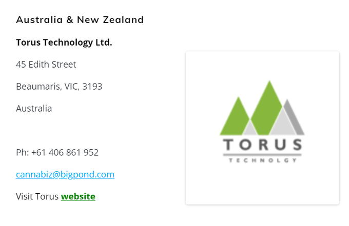 cannabistest1: We welcome Torus Technology as our appointed Sales Representative for Australia and New Zealand, selling our affordable HPLCs for testing cannabinoids.   #CannabisCommunity #cannabisindustry #canna #hemp #cbd #cannabis #sales #hplc #australia #newzealand