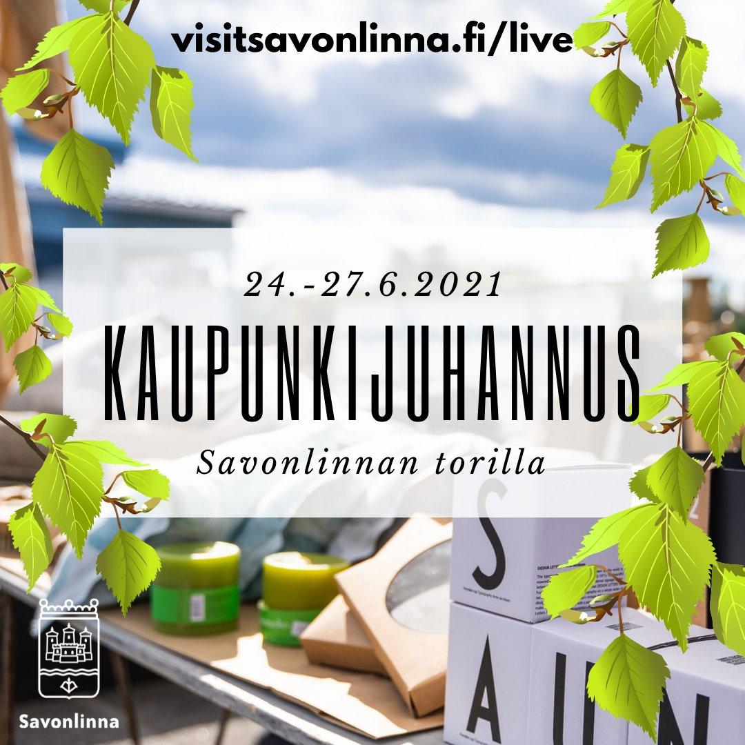 Laitetaanpa sana kiertämään 🏃 Go Savonlinna go 😊☀️☀️