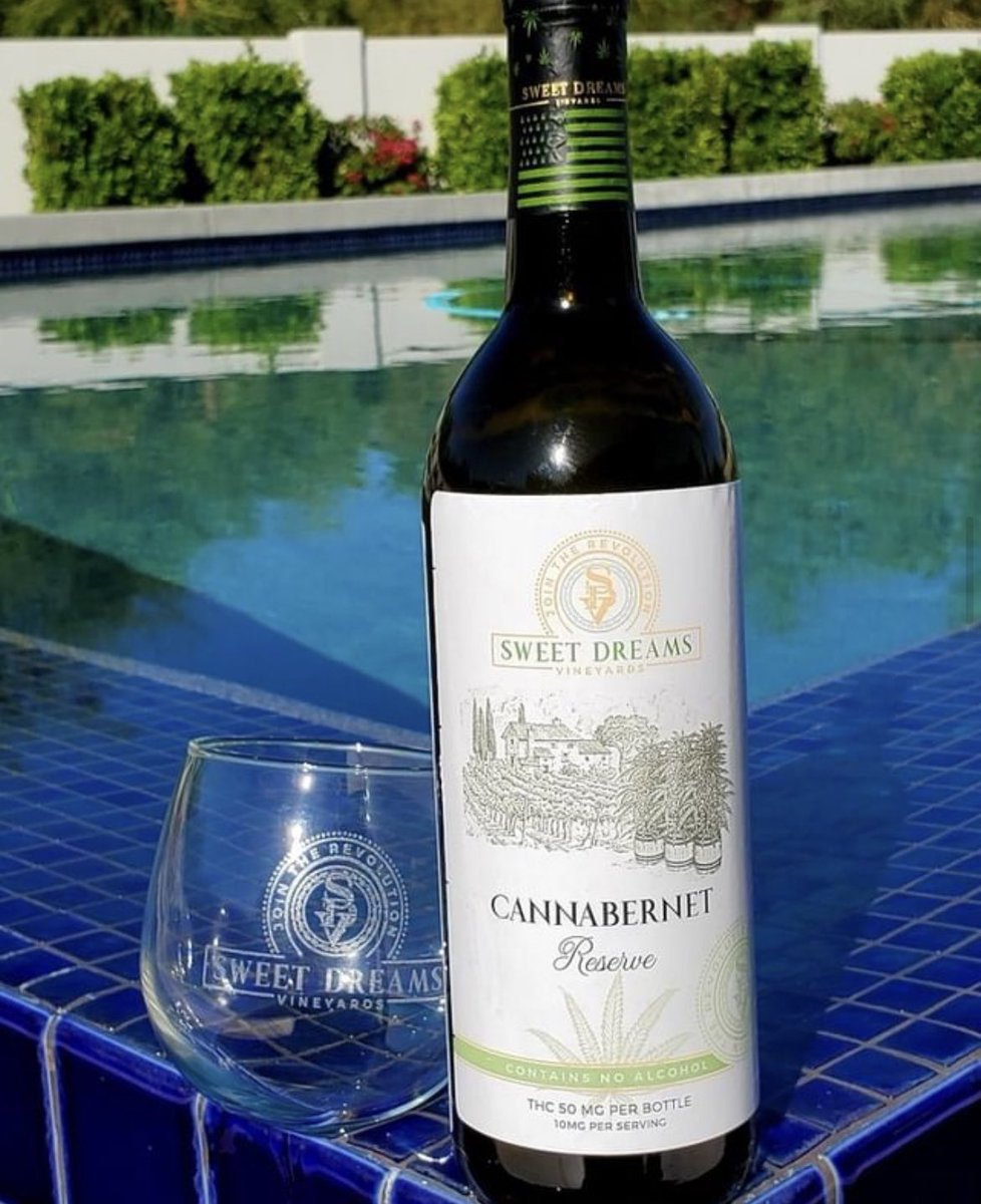 HighlyInventive: Has anyone tried this? Cannabernet from Sweet Dreams Vineyards 🍷 #Mmemberville #StonerFam #Stoner #Cannabiz #cannabisindustry #cannabisbusiness