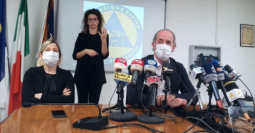 #venezia Il commiato di Zaia dalle conferenza stam...