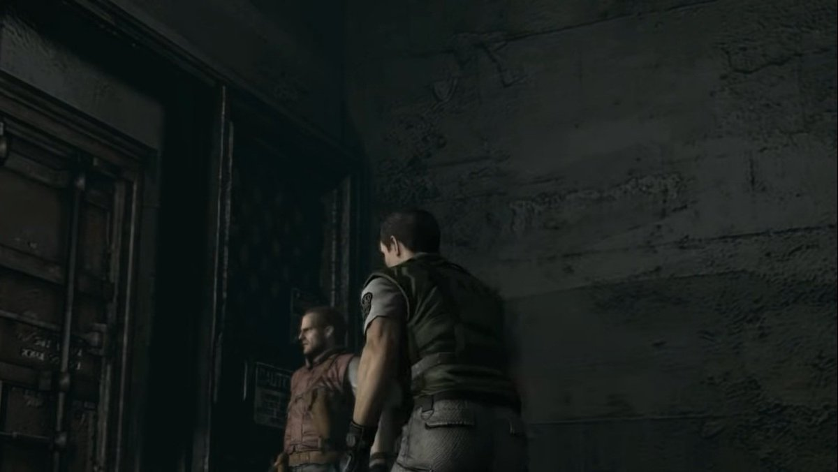 Said that, we have no time to waste. #ChrisRedfield, in particular, appears in hurry to get out. So let's go to the heliport!  #REBHFun #ResidentEvil #ResidentEvilRebirth #BarryBurton https://t.co/8txesBGHhA