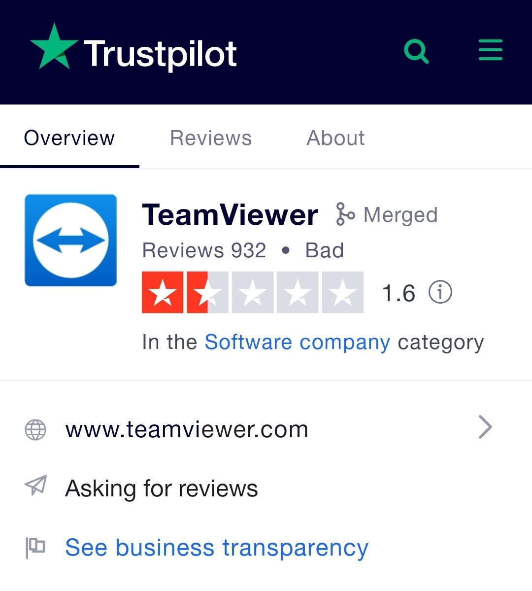 @TeamViewer @wcbleaders I can think of nothing more dangerous than putting your PC in the hands of a company known for scamming and hacking.  #NotAPennyMore #TeamviewerBlog https://t.co/R5urXaamsq