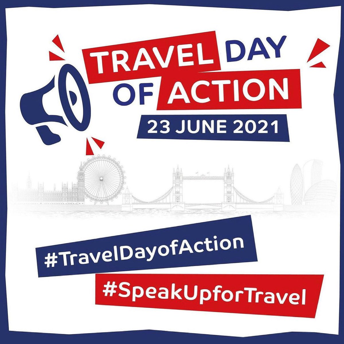 Today we #SpeakUpForTravel  Enough is enough, our voices need to be heard. Too many jobs have already been lost, most businesses have seen zero income for 18 months.  Action needs to be taken, countless businesses and individuals rely on this. #TravelDayOfAction #EnoughIsEnough https://t.co/1ZdVCTbokH