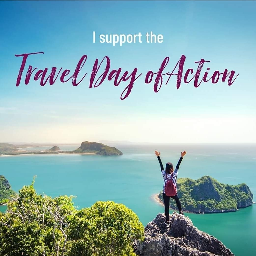 I support the travel day of action. #EnoughIsEnough #savetravel #TravelDayOfAction https://t.co/TqentoV855