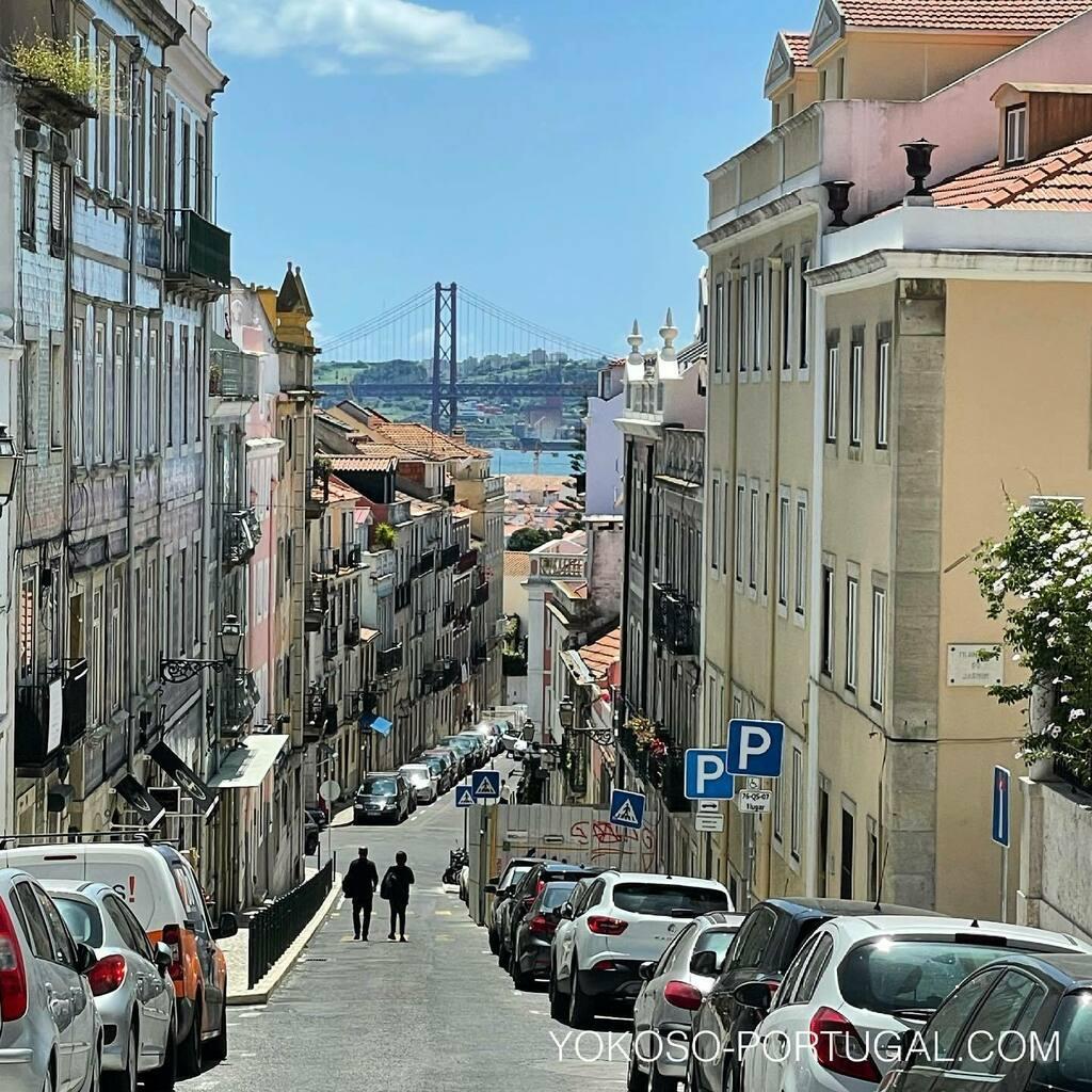 test ツイッターメディア - リスボンのプリンシペ・レアル地区の坂道。 #リスボン #ポルトガル https://t.co/5dE4HyFt0O