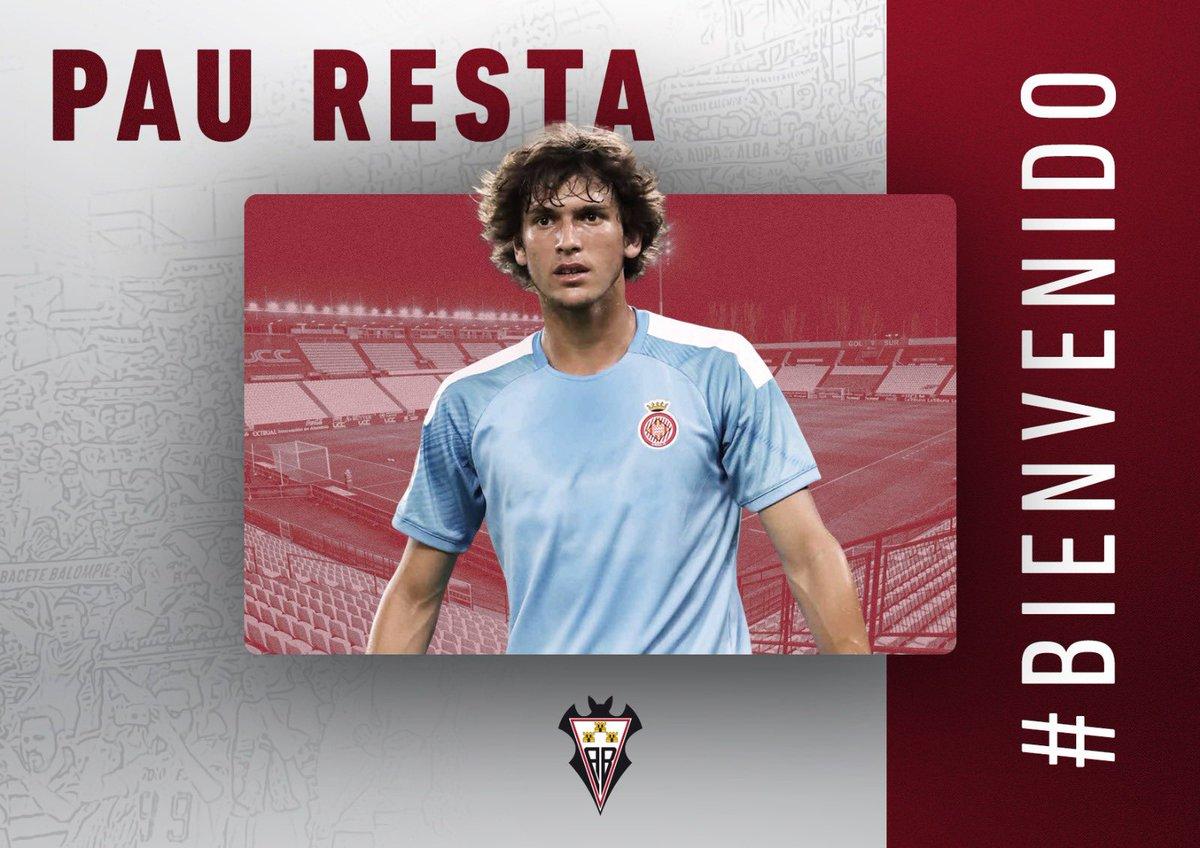 L'ex del @GironaFC B @pauresta fitxa per l'Albacete de Primera RFEF. #futbolcat