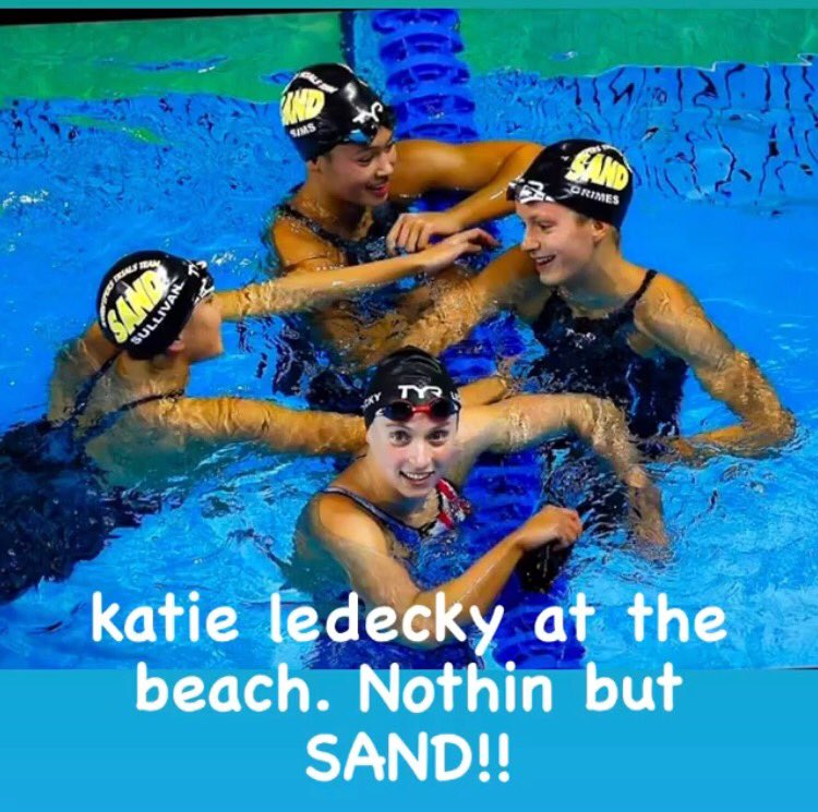 Sandpipers of Nevada Katie Ledecky distance swimming Team USA