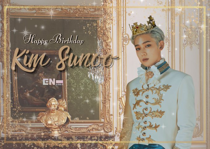 Happy Birthday to our Crown Prince, Kim Sunoo .