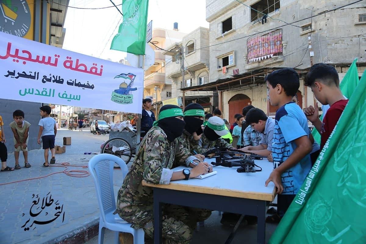 غزة هي المكان الوحيد في العالم الذي يتم فيه تنشئة الأطفال على الإرهاب بشكل رسمي.. حماس تغتال أطفال غزة….