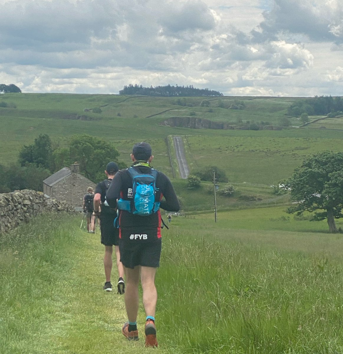 test Twitter Media - Give around of applause to EMT1 Will Griffin, who took on #TheWall challenge on the 19th June, running 70 miles from Carlisle to Newcastle along Hadrian's wall and raised £1,175 for #airambulance Well done Will fantastic achievement 👏 https://t.co/wDvobaQJui