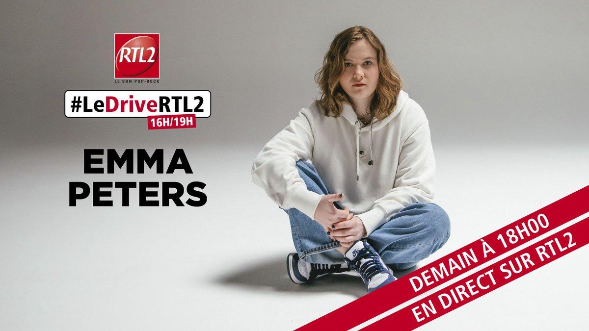 Rendez-vous demain dès 18h dans @ledrivertl2 pour écouter @emmaptrs96 en direct sur #RTL2 ! 🎶 https://t.co/WJa5nl9F45
