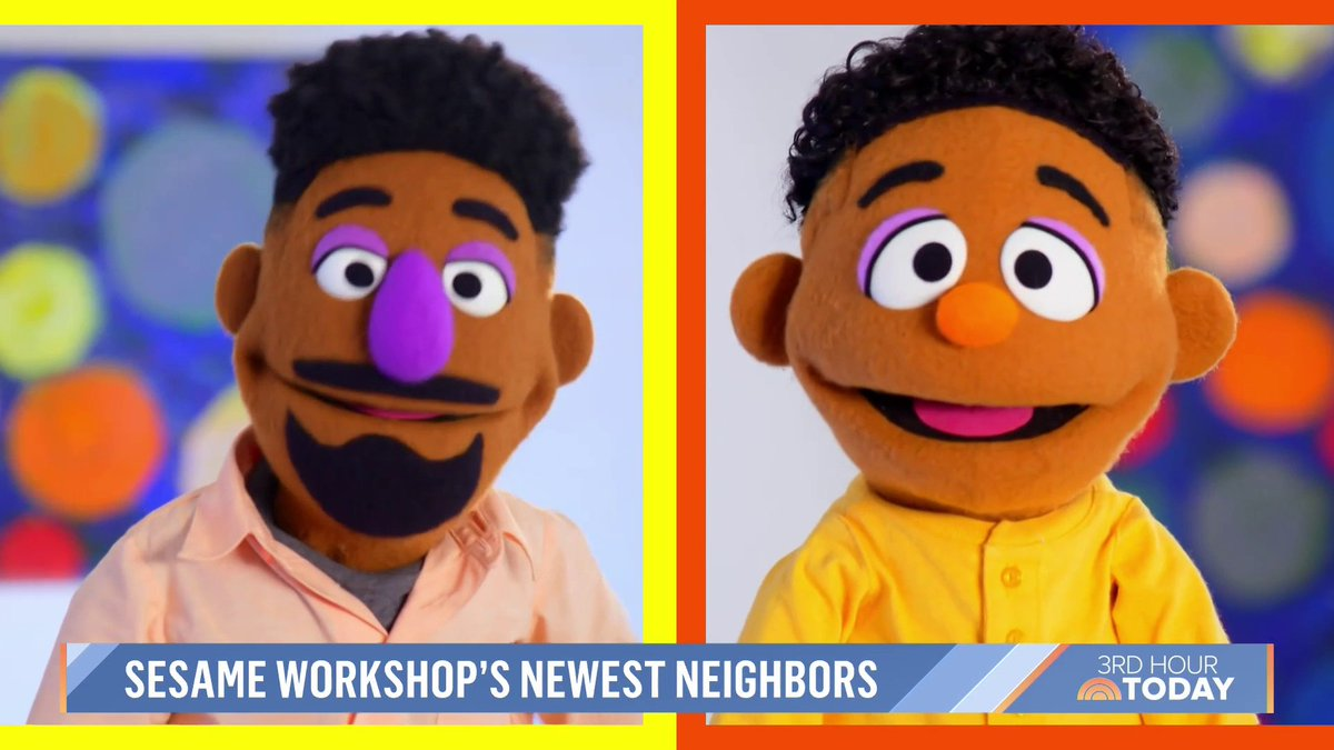 Two new neighbors on @sesamestreet are joining forces to teach youngsters about race and racism. @alroker got a chance to meet them and learn more about Sesame's #ComingTogether initiative. https://t.co/l5ES6amXA2