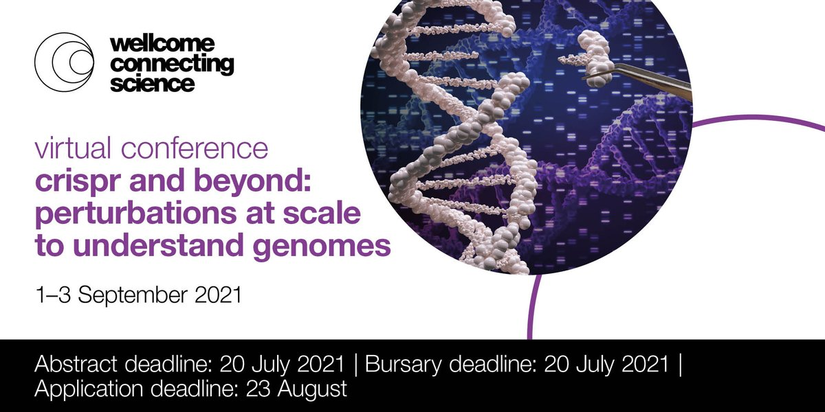 Fresh and exciting as always - CRISPR and Beyond conference registration and abstract submission are open! Virtual sessions September 1-3, bring your lab :)