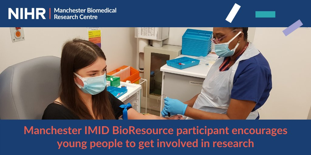 A young #lupus patient at @MFTnhs @MFT_MRI @Kellgrencentre has encouraged others to take part in research, after participating in the @IMIDBioResource.  Read more about Sally's story here 👇🏽 https://t.co/9JiUBfc3mx https://t.co/wrvxzuXmp8