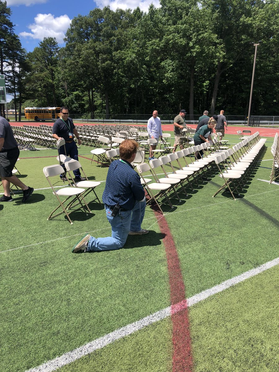 Incredible job by @Agostinoni_Ron and the HS Admin team with help from many other staff members!!  Going to be an incredible graduation ceremony for the Class of 2021! #ShenPride