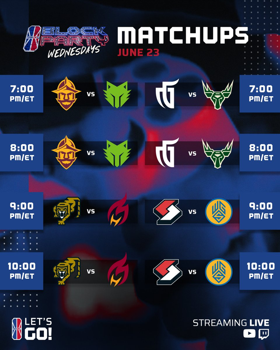 WEEK 5 IS HERE! Who are you rooting for❓  We are live at 7pm/et on Twitch https://t.co/D7K938JwAz