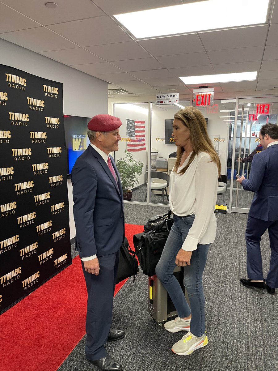 Thank you @Caitlyn_Jenner for your support and for congratulating me on my victory last night!   @77WABCradio https://t.co/9rShvEua8Q