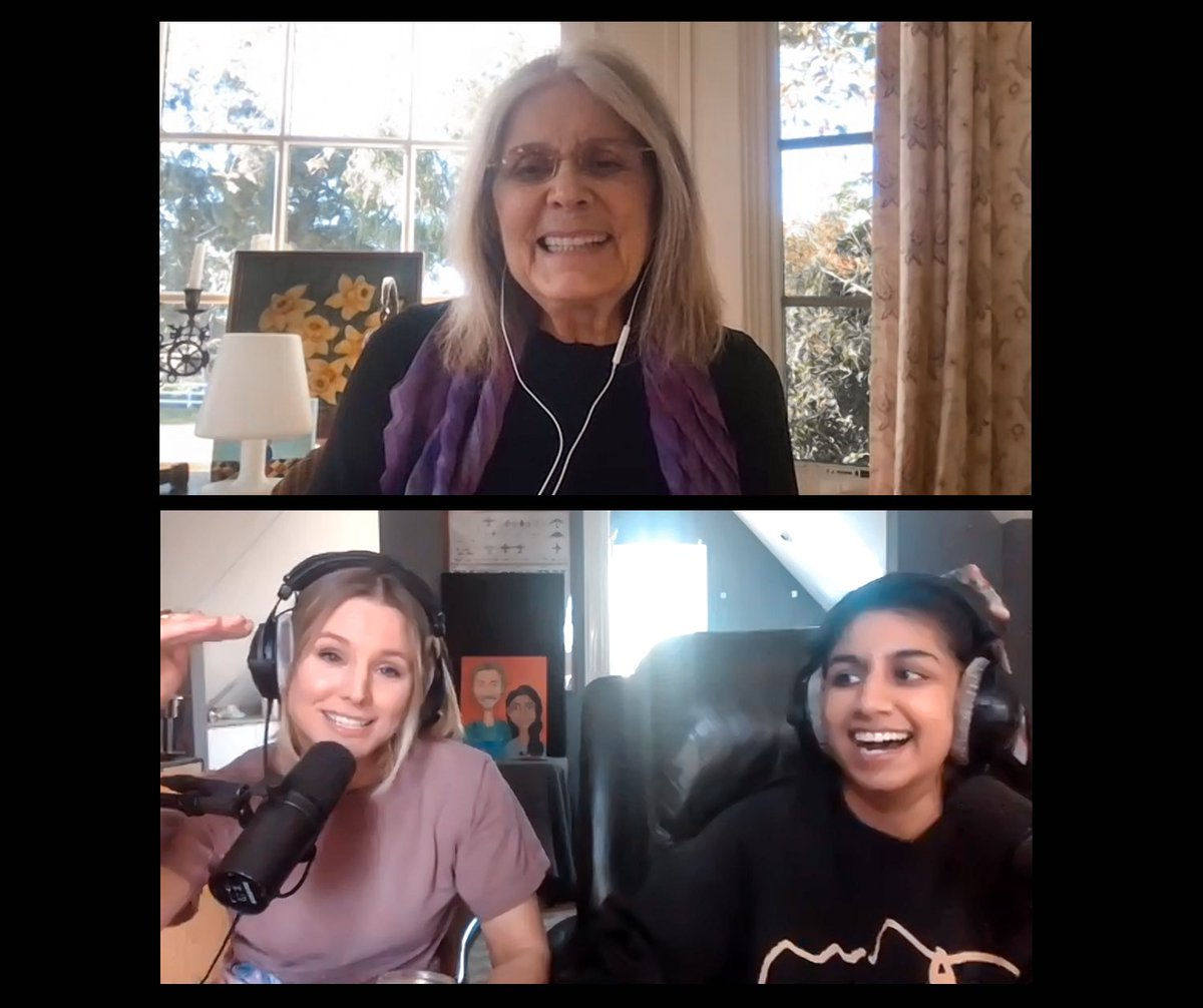First episode of SHATTERED GLASS out NOW!! She is the Gloria Steinem of feminism...GLORIA STEINEM. Enjoy! @GloriaSteinem 👩❤️👩 https://t.co/TzrO7AOrXw https://t.co/Ptxbb0fN9m