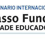 """Image for the Tweet beginning: 🇧🇷Seminário """"Passo Fundo Cidade Educadora"""""""