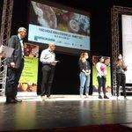 Image for the Tweet beginning: Remise des trophées Viandes #Foodhackathon