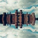 Image for the Tweet beginning: MoatHerstmonceux Castle