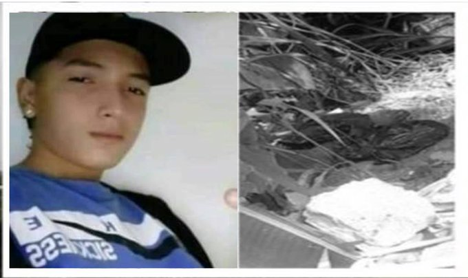 Police on #Colombia just cut this boy on pieces  Help us ! #ColombiaSOS https://t.co/FqCDzlTofg