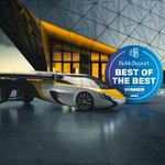 The @AeroMobil Team is honored to be named Best of the BEST in the @RobbReport for innovation within the aerial mobility race.  This is the first time a flying car has won this award in the 45 year history of the Robb Report.  #mobility #future #innovation #aviation #flyingcar