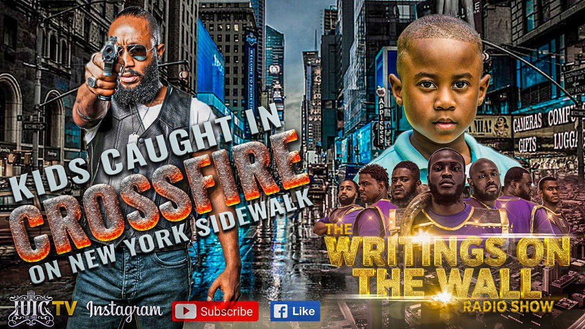 "https://t.co/0NC3IJO8JM   🔥🔥🔥🔥🔥🔥🔥🔥🔥🔥🔥🔥🔥   The Writings On The Wall Radio Show   ""Kids Caught In Crossfire On New York Sidewalk""   Make Sure To Tune In!!   #IsraelUnitedinChrist #IUIC #Tallahassee #Tpain #Florida #Israelite #12Tribes #Blacks #Hispanics #Latinos https://t.co/DgbH2REW7D"
