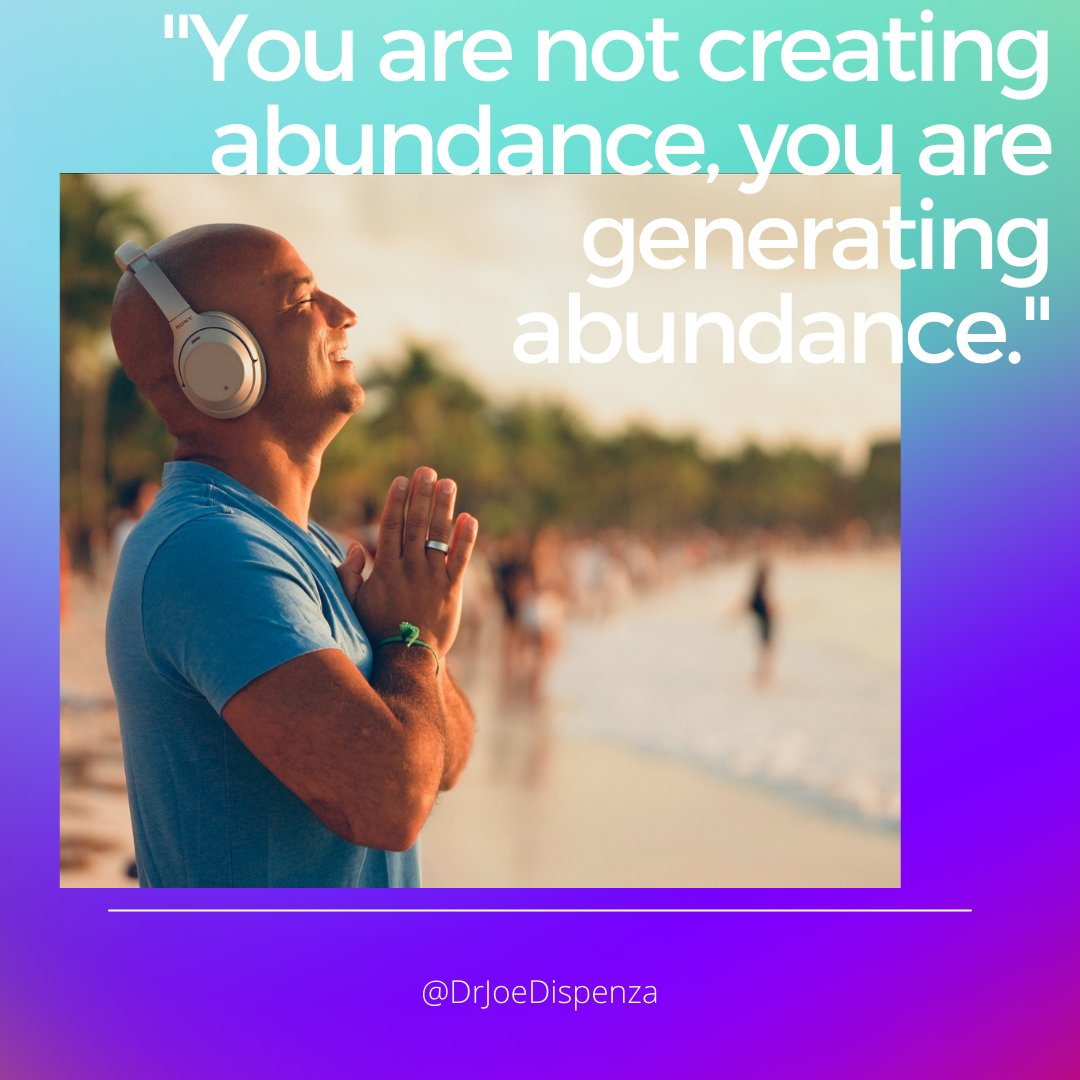 Whether u want health, wealth, love, freedom, abundance, it's not about creating those things. It's about generating them—& ultimately becoming them.Those things that you want are frequencies that already exist in the field. Check out Abundance Collection: https://t.co/E800wbl0fo https://t.co/srhyVObPOb