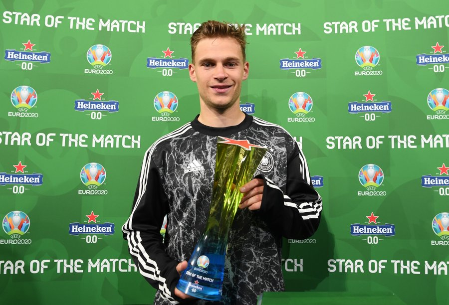 ImageJoshua #Kimmich is the #GERHUN Star of the Match ⭐