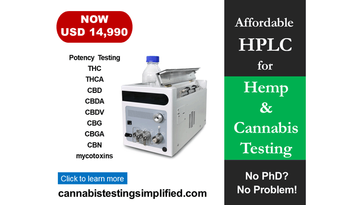 cannabistest1: We`ve partnered with financing firms!! You can get an unsecured loan to finance the HPLC starting at around $320/month !! #hemp #cbd #CannabisCommunity #CannabisNews #cannabisindustry #testing #Canna #hempseed #cbdorganic #cannabisindustry #cannabissociety #hplc