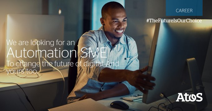 Required Automation SME with proven expertise strategic planning for automation, business...