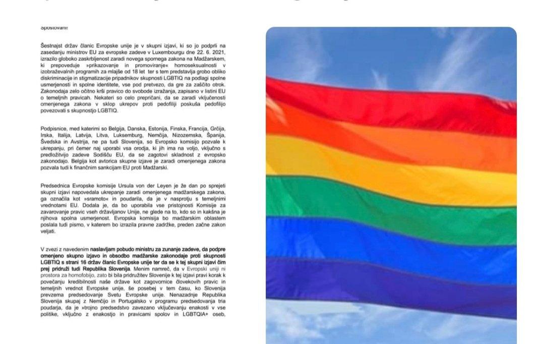 Če se osnovnošolske otroke ne uči o istospolnosti in spolni disforiji to ne pomeni, da gre za homofobijo. Gre za zdravo pamet. Tudi nas niso učili o tem. Je bil jugoslovanski in nato slovenski sistem homofoben? Dajte že prenehat s tem poceni aktivizmom, za božjo voljo.