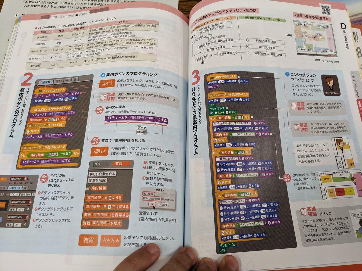 中学生の技術の教科書!プログラミングの内容がガッツリですごい!