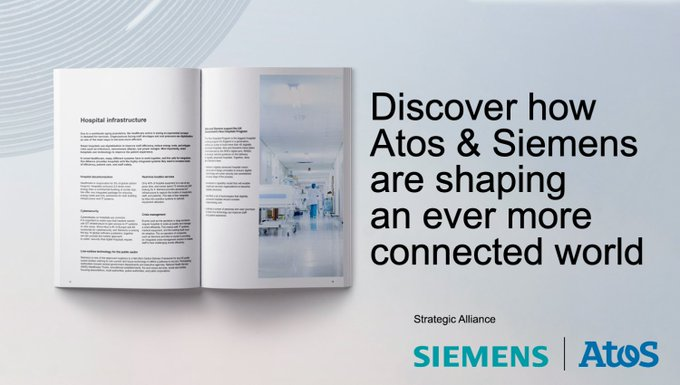 ✅ Together Atos and @Siemens provide hospitals with the highly integrated systems they...