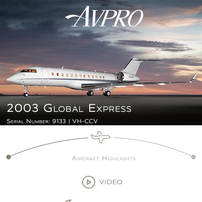 2003 #Global #Express available at @AvproJets   MNPS/RNP-10/RNP-5/RVSM APU on Honeywell MSP More details at: https://t.co/JRe2w7HQN4  #bizjet #bizav #aircraftforsale #privatejet #privateflying #jetforsale #businessaviation