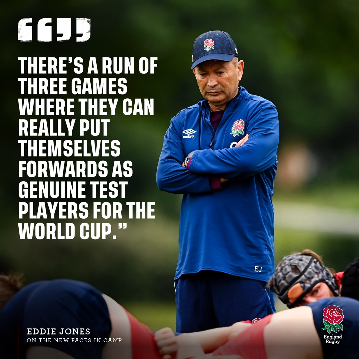 """test Twitter Media - 💬 """"There are a lot of guys here who have got an opportunity in front of them.""""  Who will seize their opportunity? 🌹 https://t.co/3CXXvUhJEH"""
