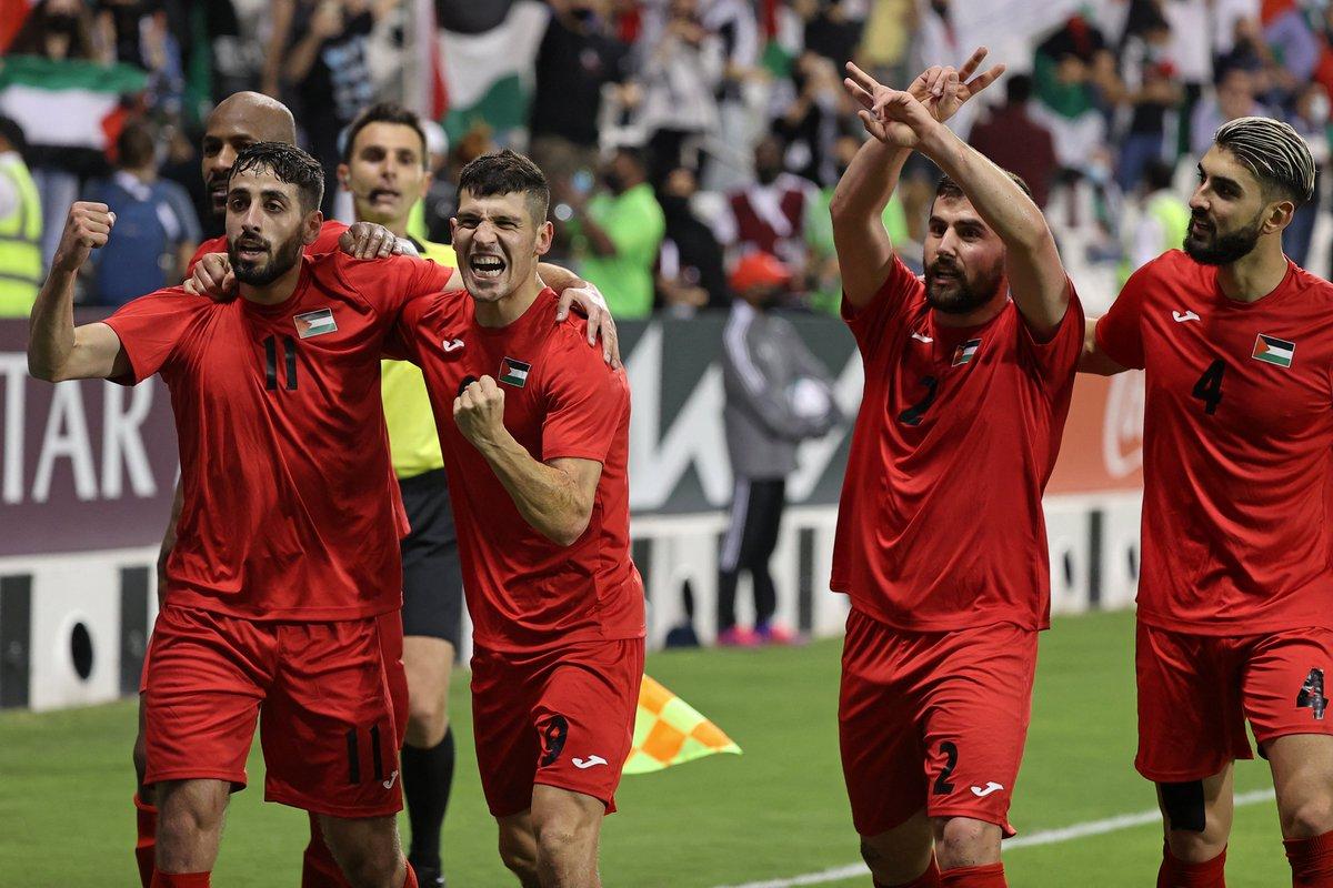 منتخب فلسطين   يتأهل إلى كأس العرب الذي