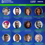 Image for the Tweet beginning: Great speakers set for #SharingSolutions