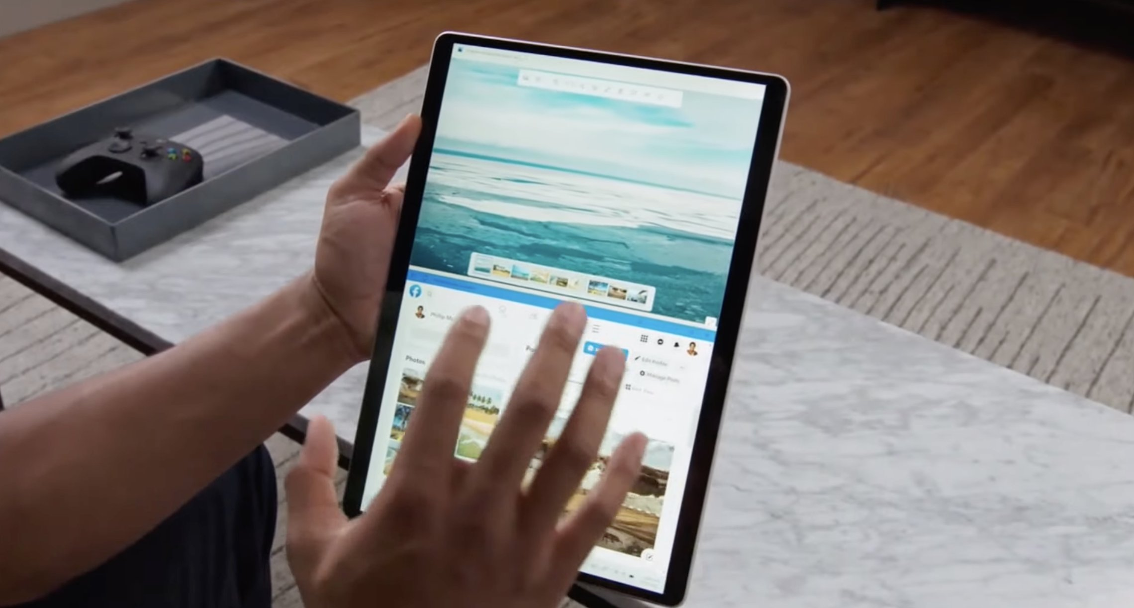 Touch experience on Windows 11