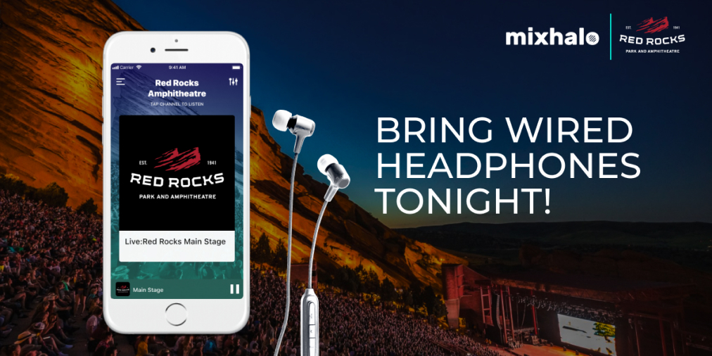 Red Rocks is now asking all attendees locateed behind the 40th row to bring headphones to better enjoy their audio experience