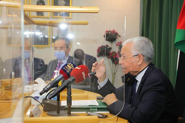Senate Palestine Committee members, FM discuss Mideast peace efforts