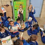 Image for the Tweet beginning: Nursery have enjoyed exploring and