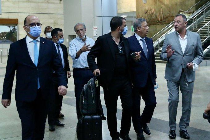 محمود الخطيب يستقبل بعثة الترجي في مطار