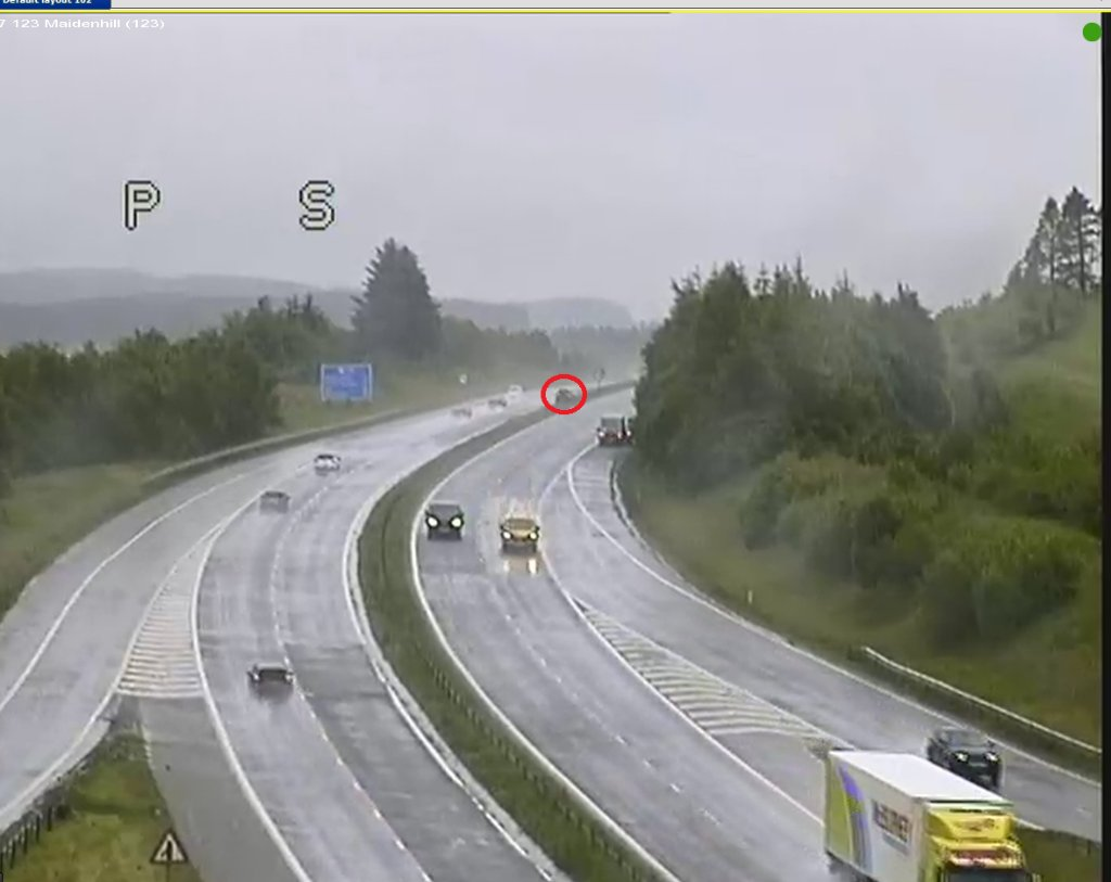 test Twitter Media - NEW❗ ⌚ 19:25  #M77 RTC  Lane 2 of 2 is partially blocked southbound on the M77 J5 to J6 due to an RTC.  Please #TakeCare on approach. 🚔 are en route.  @SWTrunkRoads https://t.co/9MQ58YEgkM