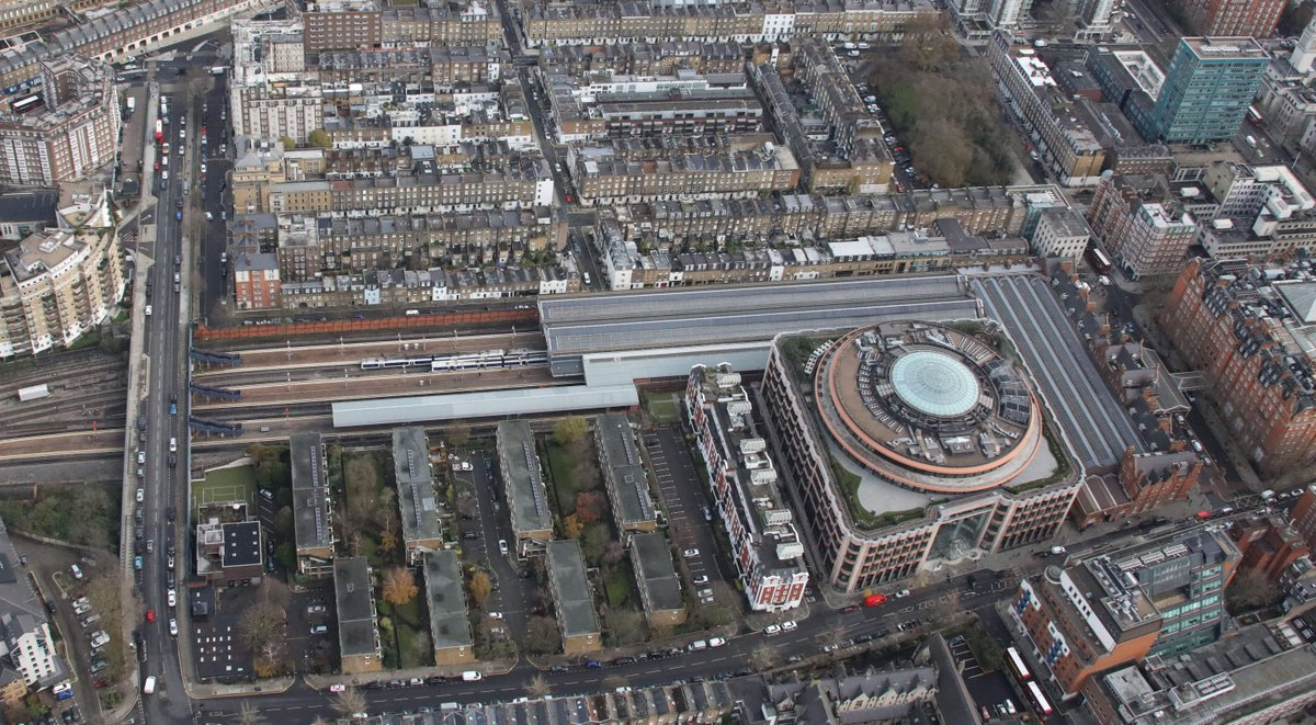 test Twitter Media - ☁️👀  Today's #StationFromTheSky is Marylebone station ...  📷  Captured by our Air Operations Team https://t.co/U8i7PmKTk9