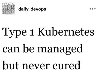RT @nixcraft: Aw snap. #DevOps #kubernetes https://t.co/amCauMsQdW